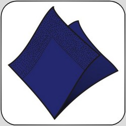 Ubr. Linteo 3vr. , 33x33 , 160ks, barevné