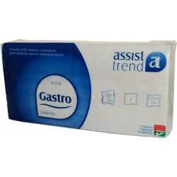 Ubr. Gastro 1vr. , 16,5x16,5 , 700 ks, celul.,bílé