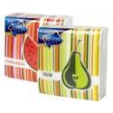 Ubr. Frutta 1vr. , 30x29 , 45 ks, potisk mix 4 druhy
